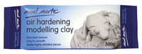 Air Hardening Modelling Clay 500g,Fine Even Texture, Easy to Smooth ,Make Highly Detailed Pieces,Professional art Shaping Clay