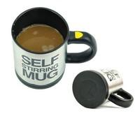Wholesale Auto Mixing Tea Cup Stainless Plain Lazy Self Stirring Mug Coffee Soup Tool