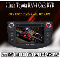 7 Inch Touch Screen Toyota RAV4 Special Car DVD Player,GPS,Bluetooth,FM/AM Radio,USB/SD