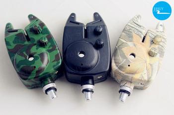 Free Shipping Drop Shipping 1PCS Wireless Carp Fishing Bite Alarm Manufacturer/Wholesaler (camo or black )