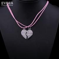 best friends necklaces pendants costume jewelry trendy jewelry pendant necklace heart best frined necklace fashion jewelry