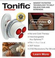 16pcs / lotFree shipping ! Tonific Body Massager (220V) very hot !