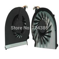 Hot Sale CQ57 CQ43 fan for HP compaq G43 CQ57 G57 436 630 631 cpu cooler, 100% NEW original 430 431 435 laptop cpu cooling fan