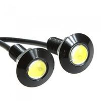 4pcs x 1.5W White High Power LED Eagle Eye Daytime Running Lamp Backup Tail Light