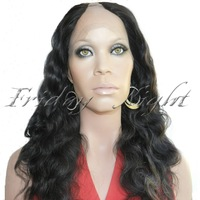 2013 Hot Selling Curly Human Hair U Part Lace Wig, High Quality U Part Lace Wig,Brazilian Virgin Hair U Part Wig