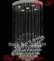 Home Lighting Free Shipping Crystal Chandelier Pendant Lamp  Indoor Lighting GU10 From China