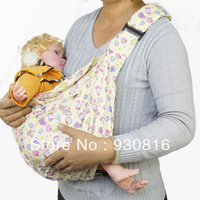 Simple baby sling one shoulder baby suspenders traditional backpack hold with breathable summer