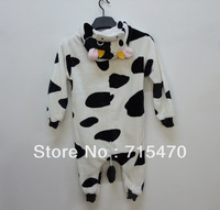 lovely Cow Unisex Kigurumi Pajamas  Children Anime Cosplay Costume Sleepsuit Cute
