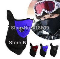 Bike Motorcycle Face Mask Ski Snowboard bicycle Fack mask Neck Warm black,blue,red - Free Shipping