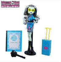 Free shipping 100% counter genuine high-quality  Monster High Dolls/ Joy of travel Frankie Stein