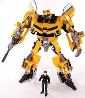 Free shipping Anime Robot  New Bumblebee Sam Action Figures Children Boy Christmas Gift With Box Drop shipping