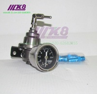 Fuel Pressure Regulator /Fuel Regulator(The black gauge with TOMEI brand)