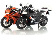 2014fashion! free shipping!  Orange storm ! welly!  1:9!  diecast model motor bikes CBR 600RR