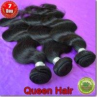 6A  30% Off Sale ,human hair extensions 3 bundles / lot peruvian body wave kbl queen vendor virgin free shipping