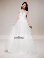 Free Shipping S1305 Copperfield Mary 2013 New Strapless Three-Dimensional Fold Diamond Princess Bride Wedding Dress