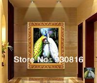 Peacock diy diamond painting cross stitch diamond rhinestone pasted painting