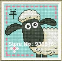 Diy diamond painting cross stitch masonry 12 zodiac sheep animal series of stickers