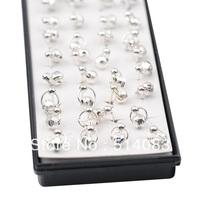 earrings 925 silver earrings 2014 Fashion silver Stud Earrings For Women wholesale