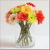 Free shipping 48PCS/LOT African chrysanthemum flower wedding flower artificial flower silk flower home decoration