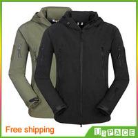 TAD shark skin jacket soft shell jacket waterproof windproof climbing outdoor clothing Men's Outerwear Free shipping