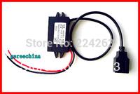 10pcs/LOTDC Converter Buck Step down Module DC 12V (8v-20v ) convert to DC 5V 3A USB Car power adapter
