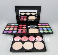 Free Shipping new 2013 sex Make-up compact palette 24 eye shadow 8 lip gloss 4 blush 3 powder  naked eyeshadow palette