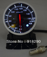 Auto Car Meter 60mm Defi Link Advanced BF oil temp Gauge Stepper Motor  red white Light