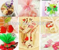 Free Shipping! 12-Mix Style Plastic Clip Tie For Bakery/Candy/Gift Packing 200pcs/lot