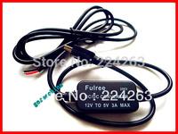 3pcs/LOT 1 M power cable DC Converter Buck Module 8-22V 9V 12V input,5V mini usb output
