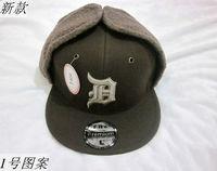 Male women's child baseball cap winter ear protector cap hip-hop hiphop cap trapper hat cap hat