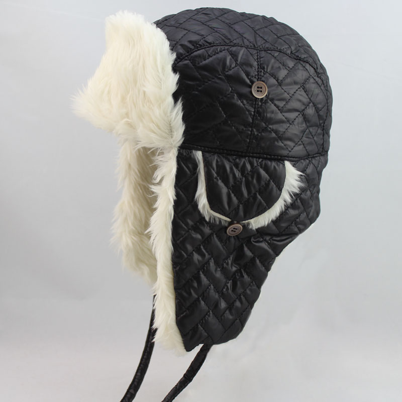 2013 fashion Warm trapper hat cap woman and man winter hat with ear protector cap