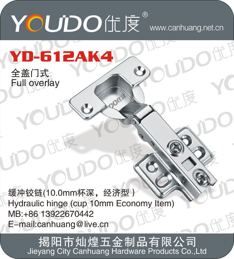 hydraulic metal cabinet door hinge type