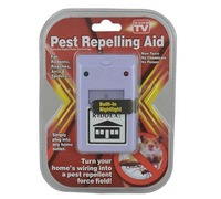 Free Shipping Ultrasonic Electronic Riddex Pest Repeller Rodent Control Aid Killer Ant Mosquito Repelling Plus110/220V