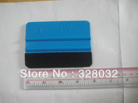 Car Vinyl Film wrapping tools 3M soft flexible squeegee Scraper with felt size 10cm*7cm 500pcs DHL free shipping