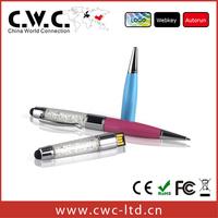 Free shipping wholesale berg pen shape 2gb 4gb 8gb usb flash drives