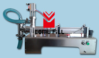 stainless steel 5-300ml single head self-priming semi automatic liquid filling machine 20-40 bottles/min