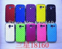Free Shipping! High Quality Plating Bling Star Crystal Diamond Rhinestone Hard Case for Samsung Galaxy Ace 2 i8160, SAM-079