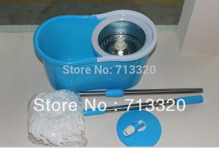 Free shipping goodhelper telescopic mop/spin mop/swivel mop/magic mop 100%original(China (Mainland))
