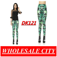 Black Milk Leggings MADE TO ORDER WHOLESALE Leaf  Black Plus Size Women Pants Galaxy Leggings Digital Print