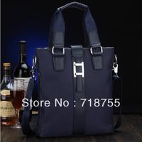 Free shipping,2013 new men hot Nylon Canvas + Leather Handbags,Men's Messenger Bag,Casual fashion men shoulder bag travel bag