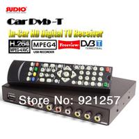 250KM/H Car DVB-T MPEG4/H.264 TV tuner 2PVR USB Record TDT TNT HDMI car tv box TV receiver digital tv box wireless