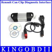 2014Newest support multi-languange Car Diagnostic tool Renault Can Clip renault scanner renault tester V135 Diagnostic interface