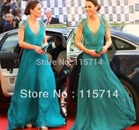 Freeship 2014 New Top Quality Kate Style Women  Elegant Lace Patchwork Summer Long Dress Maxi Dress prom long dress