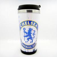 Free Shipping New Premier-Chelsea Football Club  football fans Stainless Steel Thermal Tumbler 12 OZ Travel Mug Coffee Mug Cup