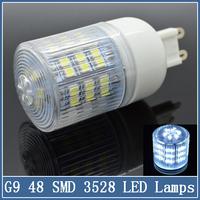 1x G9 LED Corn Lamps 9/15/25W 48/60/102 SMD 3528 Spotlight Crystal Bulb AC 220V 360 Degree Super Bright Energy Saving