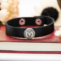 Min order is $15(mix order),Promotion,hot sale,new punk type women leather bracelets,fashion 2013 men's bangles,black & brown