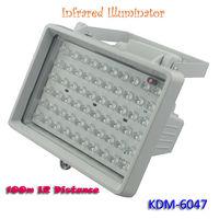 45 Degree Angle 850nm Wavelength 100M IR 48pcs F5 LEDs Night Vision Infrared Light for CCTV Camera