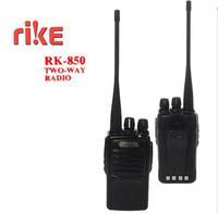 DHL freeshipping+2 sets/lot UHF 400-470mhz 7W power 1800mAh Li-ion battery professional  two way radio Rike RK-850 transceiver