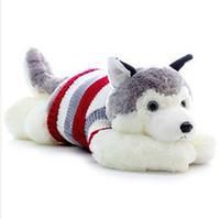 Hot sale 80 CM lovely husky dog doll plush toy children stuffed toys soft pillow best gift for birthday/Christmas