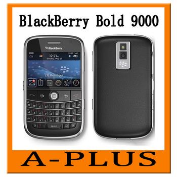 Original Refurbished Blackberry Bold 9000 3G Wifi GPS Smart Mobile phone  Free Shipping